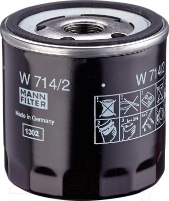Масляный фильтр Mann-Filter W714/2