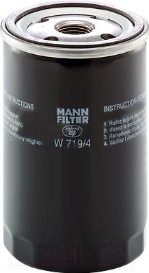 Масляный фильтр Mann-Filter W719/4