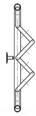 Полотенцесушитель водяной НИКА ПМ-3 50x70 / 580570200
