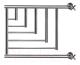 Полотенцесушитель водяной НИКА ПМ-5 50x70 / 720570100 (с полкой) -