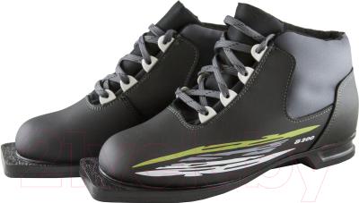 Ботинки для беговых лыж Atemi А200 Grey NN75 (р-р 46)