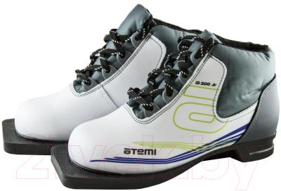 Ботинки для беговых лыж Atemi А200 Jr White NN75 (р-р 31)