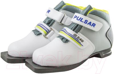 Ботинки для беговых лыж Atemi А240 Jr White NN75 (р-р 30)