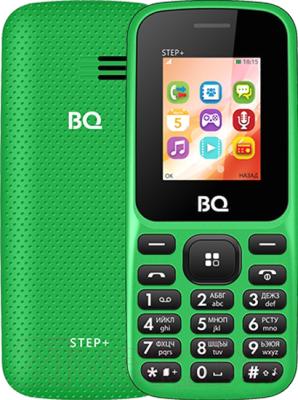 Мобильный телефон BQ BQ-1807 Step+ (зеленый)
