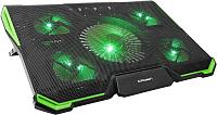 Подставка для ноутбука Crown CMLS-k332 (зеленый) -