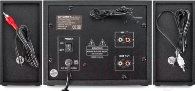 Мультимедиа акустика Crown CMBS-161