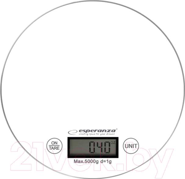 Купить Кухонные весы Esperanza, Mango EKS003W (белый), Китай