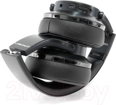 Наушники-гарнитура Crown CMBH-9320 (черный)