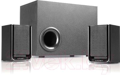 Мультимедиа акустика Crown CMS-410 (черный)