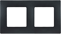 Рамка для выключателя Legrand Etika 672582 (антрацит) -