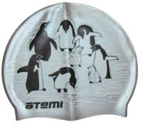 Шапочка для плавания Atemi PSC407 (пингвины) -
