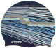 Шапочка для плавания Atemi PSC424 (синий/графика) -