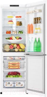 Холодильник с морозильником LG GA-B419SQJL