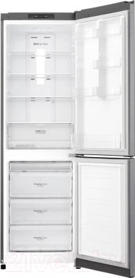 Холодильник с морозильником LG GA-B419SLJL