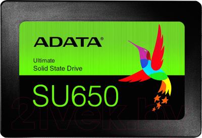 SSD диск A-data Ultimate SU650 480GB (ASU650SS-480GT-R)