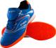 Бутсы футбольные Atemi SD300 Indoor (голубой/оранжевый, р-р 33) -