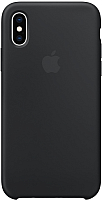 Чехол-накладка Apple Silicone Case for iPhone XS Black / MRW72 -