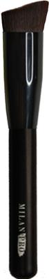Кисть для макияжа Milan Pro 7T круглая со скошенным срезом для тональной основы