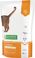 Корм для кошек Nature's Protection Indoor / NPS24347 (400г) -
