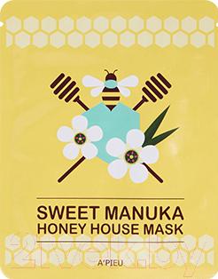 Купить Маска для лица тканевая A'Pieu, Sweet Manuka Honey House Mask (23г), Южная корея, Sweet Sheet Mask (A'Pieu)