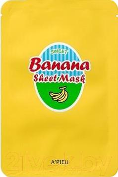 Купить Маска для лица тканевая A'Pieu, Sweet Banana Sheet Mask (23г), Южная корея, Sweet Sheet Mask (A'Pieu)