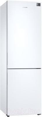 Холодильник с морозильником Samsung RB34N5061WW/WT