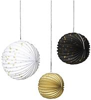 Набор ёлочных игрушек Ikea Винтер 804.035.40 (3шт) -