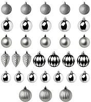 Набор ёлочных игрушек Ikea Винтер 004.007.72 (32шт) -
