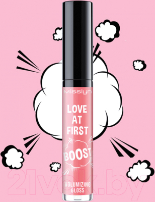 Блеск для губ Misslyn Love At First Boost Volumizing Gloss тон 281.18 (3.5мл)