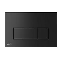 Кнопка для инсталляции Alcaplast M578 (черный матовый) -