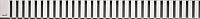Решетка для трапа Alcaplast LINE-1150L -