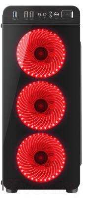 Корпус для компьютера GENESIS IRID 300 / NPC-1131 (красный)