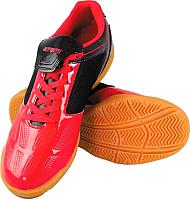 Бутсы футбольные Atemi SD803 Indoor (красный/черный, р-р 43) -