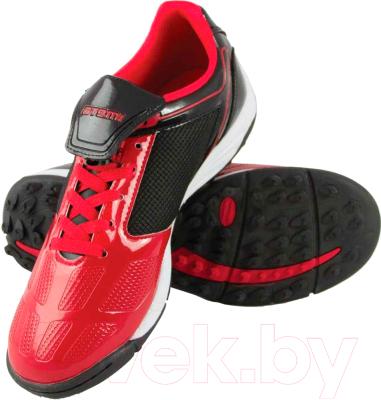 Бутсы футбольные Atemi SD803 TURF (красный/черный, р-р 45)