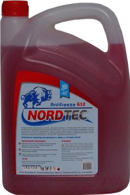 Антифриз Nordtec G12 -40 (20кг, красный)