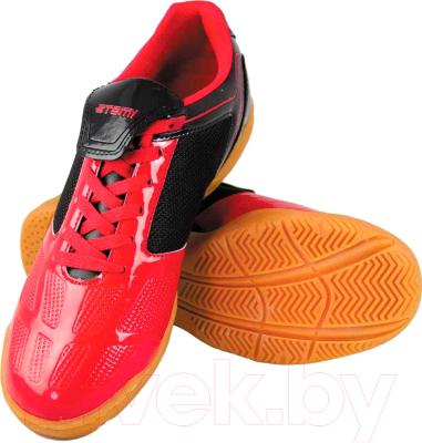 322919cd Atemi SD803 Indoor (красный/черный, р-р 45) Бутсы футбольные купить ...
