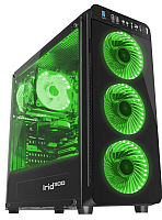 Корпус для компьютера GENESIS IRID 300 / NPC-1133 (зеленый) -