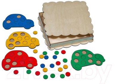 Развивающая игра Smile Decor Мозаика Машины / П025