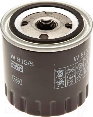 Масляный фильтр Mann-Filter W815/5