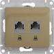 Розетка Schneider Electric Glossa GSL000485KK -
