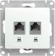 Розетка Schneider Electric Glossa GSL000685KK -