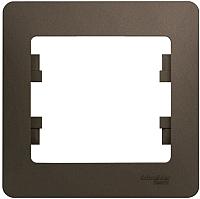 Рамка для выключателя Schneider Electric Glossa GSL000801 -