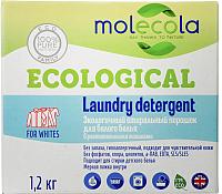 Стиральный порошок Molecola Для белого с растительными энзимами (1.2кг) -