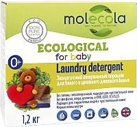 Стиральный порошок Molecola Для белого цветного детского белья (1.2кг) -