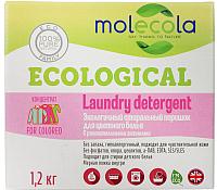 Стиральный порошок Molecola Для цветного с растительными энзимами (1.2кг) -