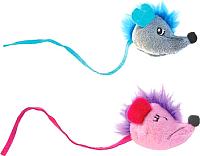 Игрушка для животных Petstages Fuzzy Rat / 90026 -