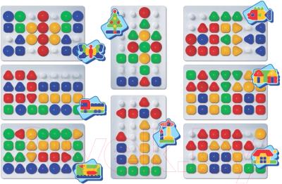 Развивающая игра Десятое королевство Мозаика для самых маленьких / 03503