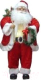 Фигура под ёлку Подари Дед Мороз средний / 2132 XMAS (красный) -