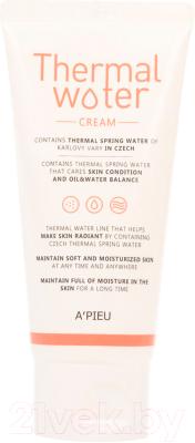 Крем для лица A'Pieu Thermal Water Cream увлажняющий (80мл)