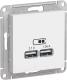 Розетка Schneider Electric AtlasDesign ATN000133 -